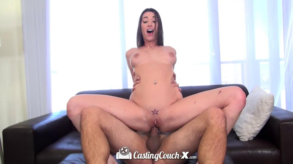 Gia Love spreads her pink pussy for dick