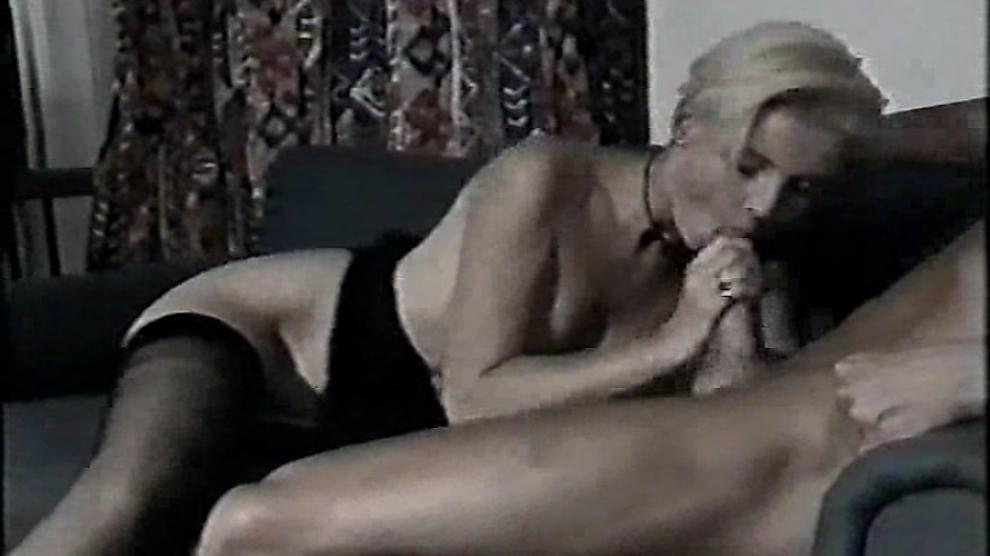 Starlette Caramelle giving hot blowjob to Peter North