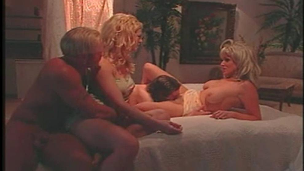 Malitia and Randi Storm in a hot bedroom foursome