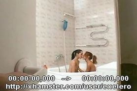 LESBIANS AND  BBC : ANAL ACTION IN THE BATH