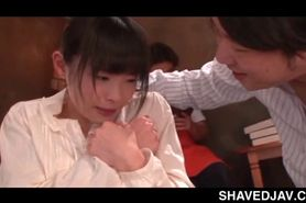 Jap teeny in school taken and fucked as sex slave in gangbang