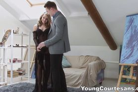 First courtesan session