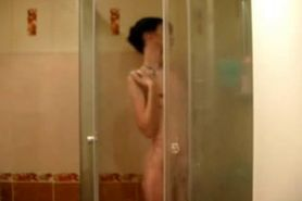 Skinny Punk Emo Girl Small Tits Sexy Shower