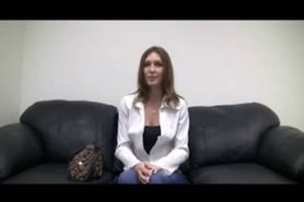 Hot Chick On Casting Couch