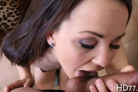 Exquisite pussy pounding
