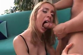 Kelly Wells, Throatfuck, Rimjob, Cumshot