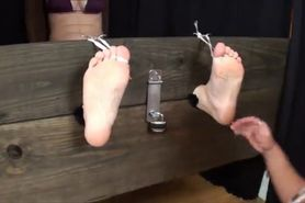 Kessa Stocked and Tickled - F/F, Dre Is Extra Mean To This Brunette!