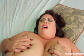 Big Tit Big Belly BBW MILF Gets Fucked on the Beach