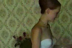 Very young Ukrainian teen homemade