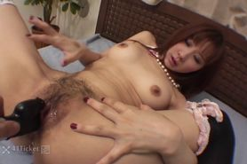 Myu Tsubaki is a Busty Orgasmic Babe -Uncensored JAV-