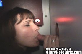 Gloryhole Girl Cindi Gives Sloppy Blowjobs To Strangers In Tampa