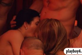 Married couples nasty orgy with swingers and enjoyed it