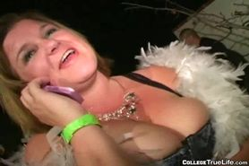 Sexy College Girls In Party