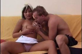 French mature in socks Chantal