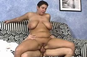 With A Little Help From Tequila This Hot Fat BBW Gets Really Horny!