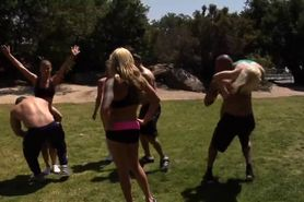 Fit Girls Orgy Part 1