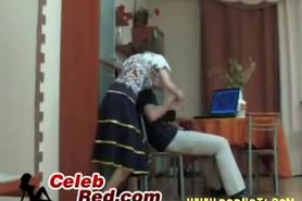 Girl Caugh Her Brother In Law Jerking In The Kitchen girl