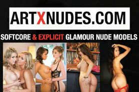glamour pin-up nudes topless model photograpers