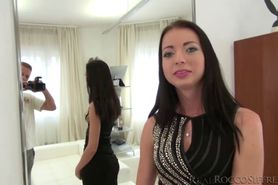 How Leyla like to get banged from behind by Roccos hard throbbing cock