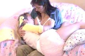 Adult Breastfeeding.....Mummy Alana & Sunny