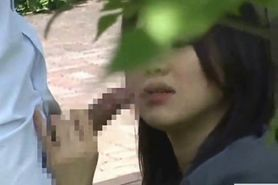 Cute Japanese School Girl Sex Outdoor