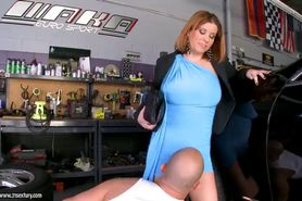 Sara Stone @ Cheating Whore Wives - Just Fix My Car, Would You?