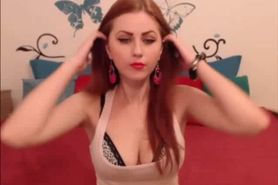 ChloeSecret Sexy Red Head On Webcam