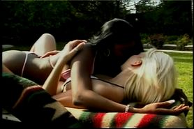 Amateur and sexy lesbian chicks fucks at outdoors
