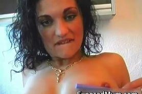 Naughty MILF masturbates free porn video part2