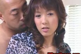 Hiromi aoyama gets cunt licked part3