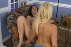 Young Lesbian has nice pussy and asshole part2