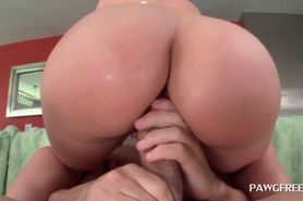 Huge ass redhead hoe pumped in her slit