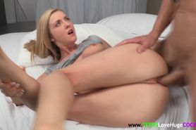 Young Karla Kush fucked with big cock