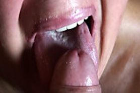 huge cum in mouth