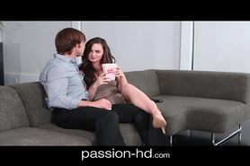 Petite young spinner coed fucked