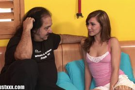 Ron Jeremy is fucking her
