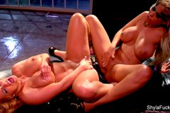 Exotic Fun With Bridgette B & Shyla Stylez