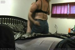 Big Butt Blonde Cougar Blowjob & Doggystyle
