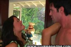 Brunette Jessica Gets Fucked Hard