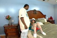 Latina mature maid