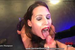 Cockhungry and jizz thirsty Viktoria