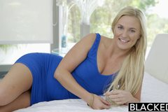Curvy Blonde Payton Simmons vs BBC