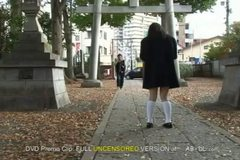 School Girl Wets her Panty