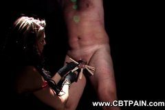cbt with wood clothespins on balls