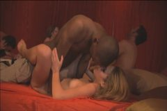 New couple gets introduced into a swingers orgy
