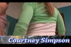 Cum Swallow Courtney Simpson Jersey Jaxin