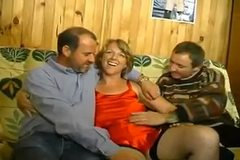 French bi  amateur threesome MMF