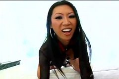 Tia Ling fucked by three big cocks
