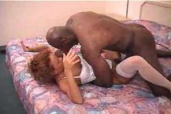 Sexy mature milf wife janet and her black lover