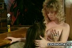 Tracey Adams and Tori Welles - Blonde And Brunette Retro Lesbian Sex